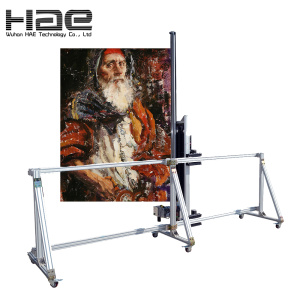 Large Format Drawing Printed Device On Canvas