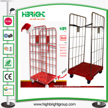 Nestable Roll Container Cage Trolley