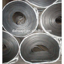 Nylon belt Chemical industry use wear-resistant type steel cord rubber conveyor belt with top quality