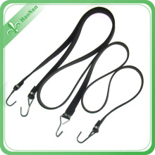 Durable Consumer Goods Flat Black Color Elastic Bungee Cord for Sale