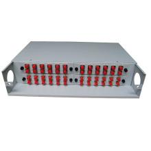 PG-ODF2026 caja de terminación de fibra óptica montada en rack de 19 pulgadas