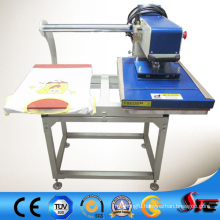 CE Approved Pneumatic Double Station Upper Glide Heat Press