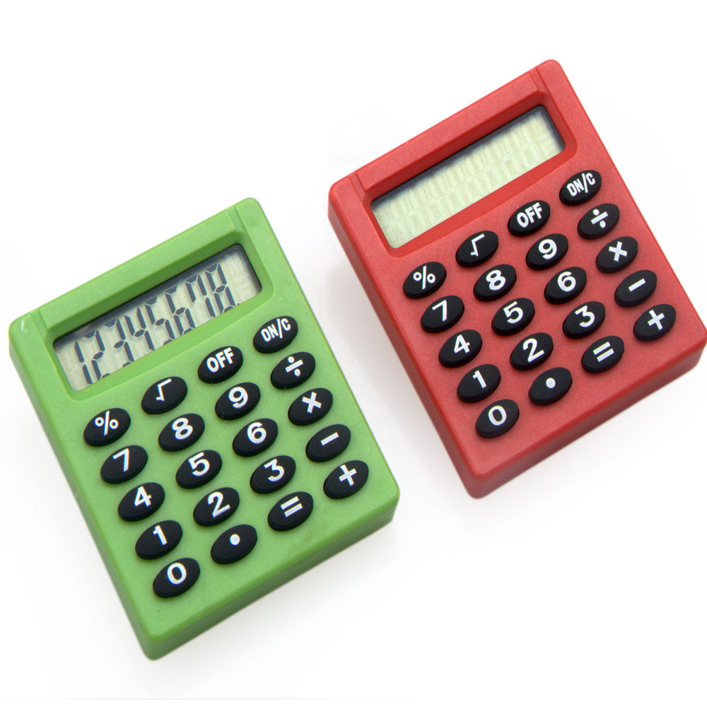 Back to School Mini Square Pocket Calculator for Kids