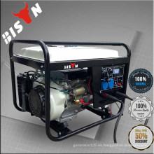 BISON (CHINA) Generador de soldadura de doble uso de gasolina de soldadura de la máquina