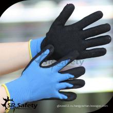 SRSAFETY оптовые строительные перчатки с покрытием нитриловая перчатка / защитные перчатки