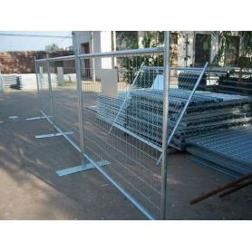 temporary security fence panels