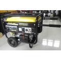 Générateur électrique portatif de puissance d'essence de début de 2kw-7kw avec du CE, ISO9001
