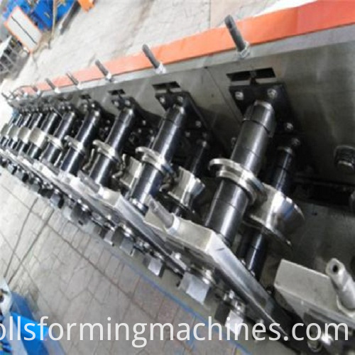 Shutter Door roll forming mashine-Part1