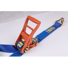 "2 ""6T Heavy Duty Ratchet Tie Down Strap"