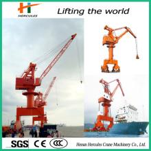 New Type Port Gantry Crane for Bulk Cargoes Cement Ship Unloader
