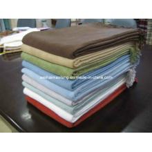 Extrasuave muy tejido manta de bambú