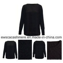 Cashmere Blend with Mercerized Wool Ladies Sweater