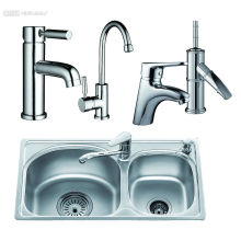 Single Handle Brass Wash Basin Faucet Tap Water Tap