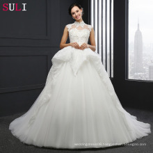 SL-040 Custom Made Alibaba Wedding Dress Bridal Gowns 2017