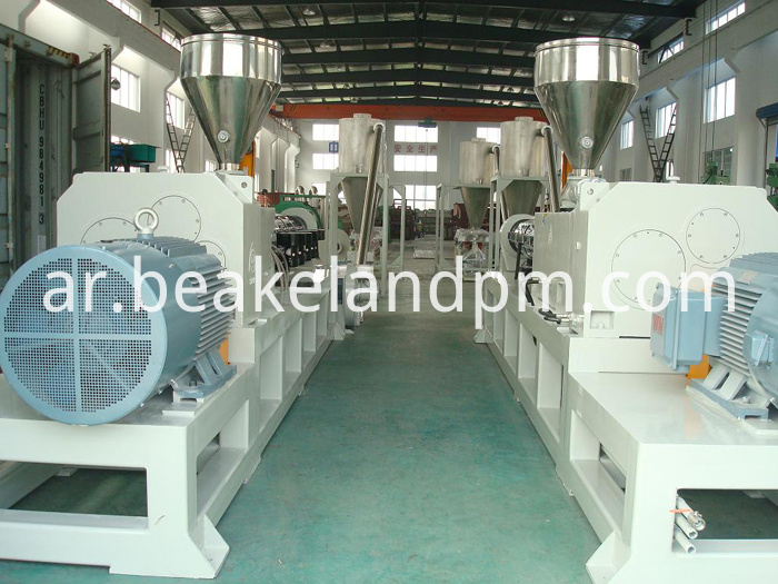 PVC granulating production equipment