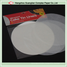 40GSM Virgin Wood Pulp Made Round Baking Paper in Sheets