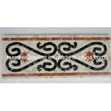 Граница мозаики из мраморного камня (STP96)