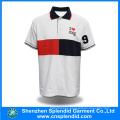 Latest Design High Quality Plain Mens White Polo Shirt