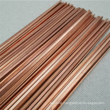 Chinese supplier welding material DIN 8513 L-CuP6 phosphorus copper brazing flat rod