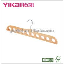 Crochet en bois de ceinture à 10 trous
