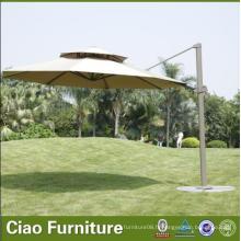 Parapluies de plage de meubles extérieurs de patio