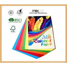 Bunte Farbe Papier Wrinting Ppaer mit A4 Größe