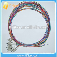 50/125um LC Fiber Optic Pigtail 12 Colors