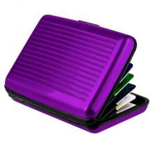 Light Card Holder Crédito Case Metal Card Wallet