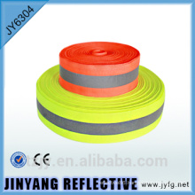 yellow reflective safety warning ribbon