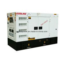Famous Manufacturer 50Hz 20kw/25kVA Soundproof Cummins Diesel Genset (4B3.9-G2) (GDC25*S)