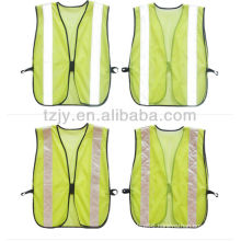 high visibility mesh reflective security vest for children