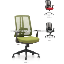 X1-03WS-3 Office Chair with Mesh / White Shell