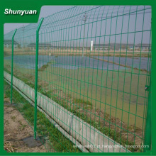 Reforçado cerca de arame duplo / duplo painel de arame cercas / arame duplo para a venda