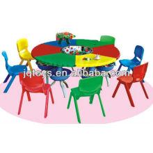 Crianças de plástico barato jogar mesa