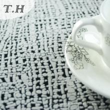 Tissu floqué de polyester pour le sofa