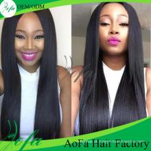 Extensão de cabelo humano de alta qualidade por atacado do Virgin do cabelo de Remy