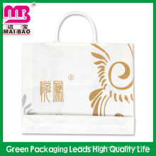 Custom design advertising fork ear plastic packaging bag