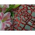"""POLY MESH WITH 5MM SEQUIN EMBD 50/52"""""""