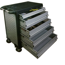194 pieces comprehensive repair tool trolley 5 drawers for sale