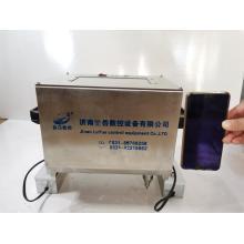Máquina de marcação elétrica para placa de identificação de carro
