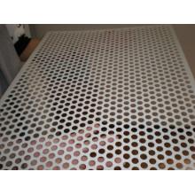 Metal perfurado pesado / chapa de metal perfurada grossa