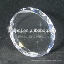 Bloque de cristal en blanco de alta calidad en blanco para Lser grabado