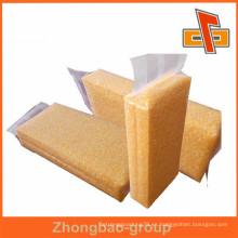 Alta barrera de nylon personalizado de nylon transparente bolsa de vacío para niblet o maíz de embalaje