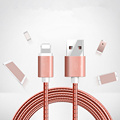 USB charger cable  metal braided