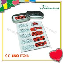 Bandage adhésif dans une boîte en fer blanc ou un distributeur de bandage (PH4361)