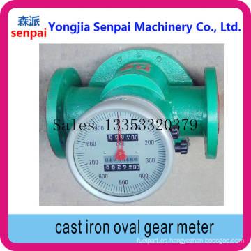Ogm-I-50/80/100 de hierro fundido engranaje de medición oval