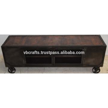 Industrial Vintage Tv Unit