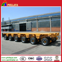 Transport Heavy Equipment Hydraulic Modular Semi Trailer
