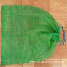 Plastic PE raschel mesh net potato bags 50kg