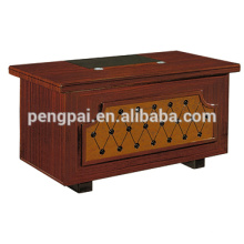 West asia style brown boss manager desk with factory price